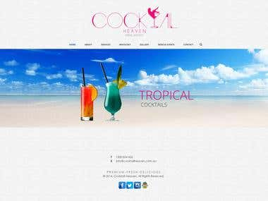 cocktail Heaven website