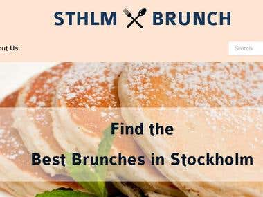 Wanna get best brunches in Stockholm