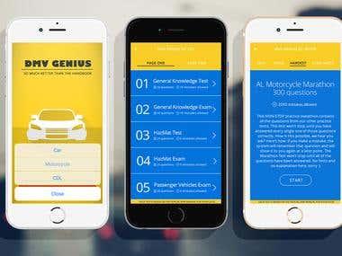 Educational App-DMV Genius