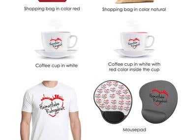 Design eines T-Shirts