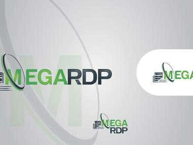 Megardp Hosting Service Logo Design