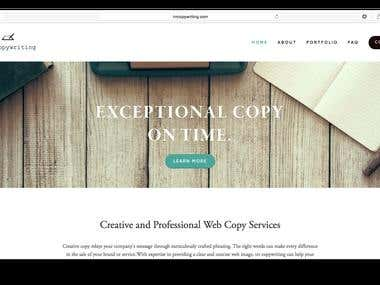 TRR Copywriting- Web Copy