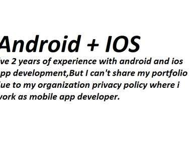 Android +IOS