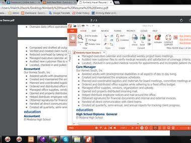 Formating PDFs/PDF EDITING