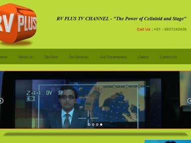 TV Channel Website