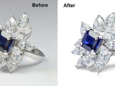 Jewelry + Diamond Correction