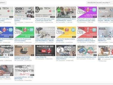 Trobots Robótica | Canal YouTube