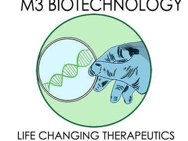 M3 biotechnology (logo)