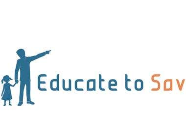 Logo for Educate to Save Charity