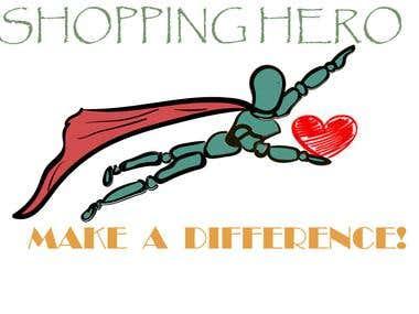 shopping hero (logo)