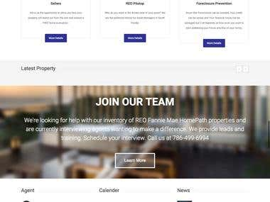 Continental Realtors  - wordpress