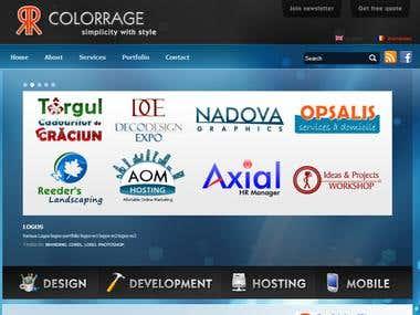 Colorrage Webdesign
