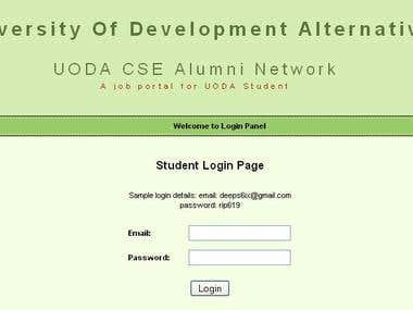 Student Almuni Associtation