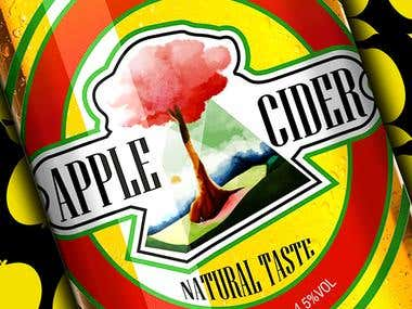 cider bootle