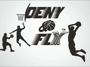 deny & fly logo B