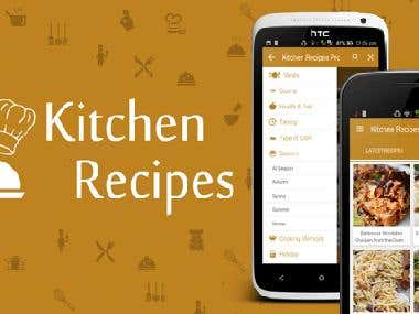 Kitchen Recipes Pro