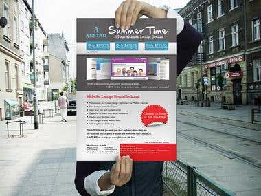 ANSTAD Summer Time promotion Poster