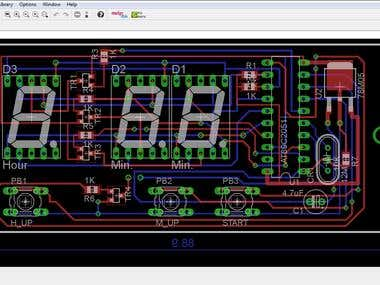 Circuit and PCB designing in KiCAD and Eagle...