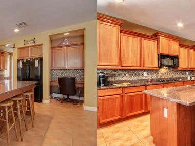 Photo Retouching - Real estate photos