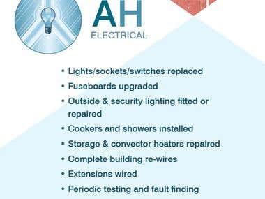 Flyer Design - AH Electrical