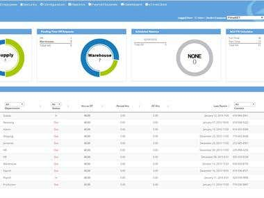 Advanced Time & Attendance SaaS System