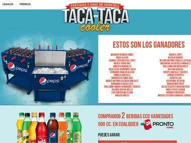 Taca Taca Cooler Contest