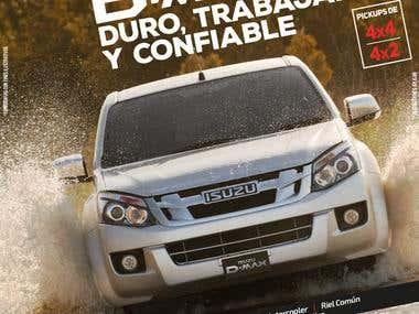 Advertising Isuzu D-Max