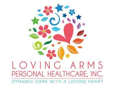Logotipo Loving Arms
