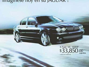 Advertising Jaguar X-Type