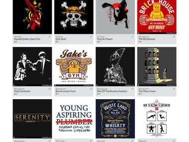 Shirtlo.com Scrap and Show