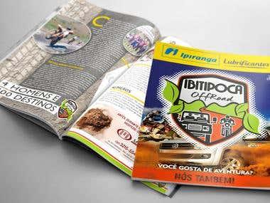 Revista Ibitipoca Off Road (diagramação)