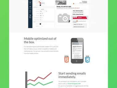 Klaviyo Bootstrap Responsive HTML