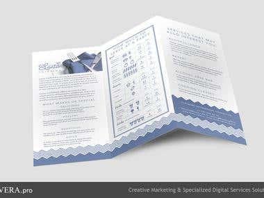 Lanta Cafe Carryout menu design