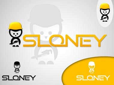 logo for sloney