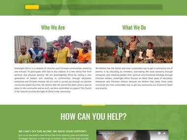 GreenlightAfrica.org WordPress Website