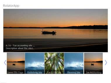 Image Rotator App