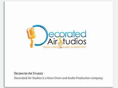 Logo design: Decorated Air Studios