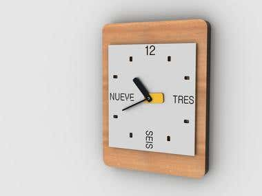Wall Clock / Reloj de pared