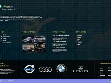 Footer for a client