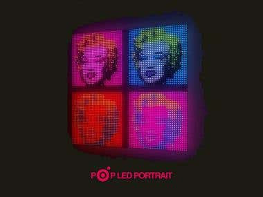 LED Portrait