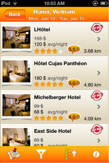 Hotel management and booking system