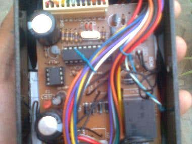 Internal View of Adjustable Timer Relay