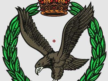 crown eagle