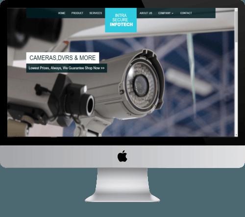 Intra Secure Infotech Dynamic Website