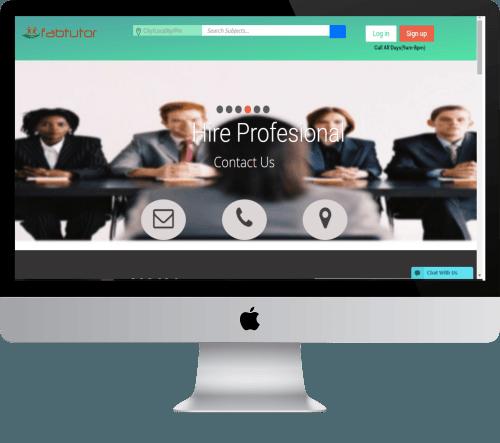 Fabtutor  Ecommerce website