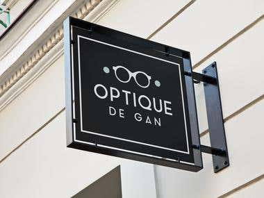 Logo and Outside Signage for Optical Store