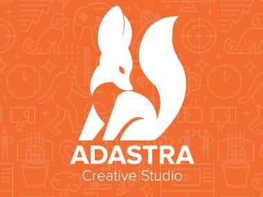 Adastra Creative Studio Logo design