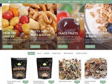 PrestaShop Online Restaurant Shop