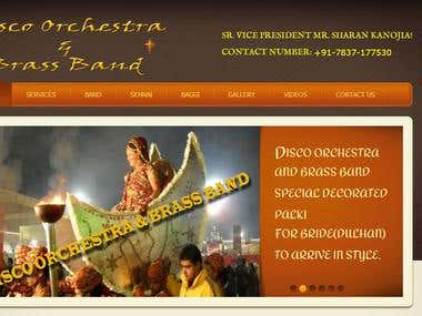 disco orchestra band site