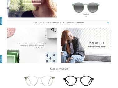 sun glasses selling site